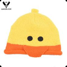 Winter Kids Cute Hat Duck Pattern