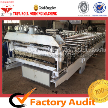 metal roof tile making roll forming machine