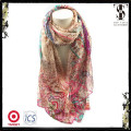 El nuevo diseño llegado para el mantón de la bufanda de la gasa de la manera de las muchachas