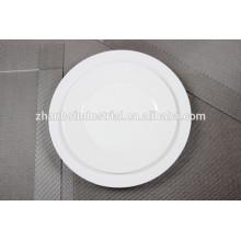 """Al por mayor blanco 10,5 """"nuevas placas de cena de hueso china"""