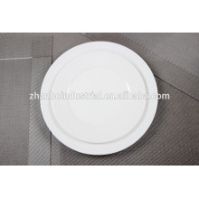 "Wholesale White 10.5"" New Bone China Dinner Plates"