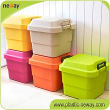 Großer neuer Entwurfs-billiger bunter Haushalt pp. Plastikbehälter für Haushalt