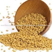 Spicy fenugreek seeds
