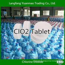 Traitement de l'eau potable sûr et vert Désinfectant chimique en dioxyde de chlore