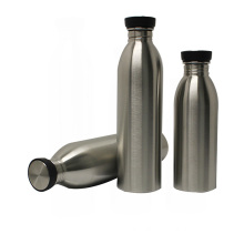 Leak proof insulated water bottle stainless steel vacuum