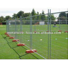 temporary safety fence