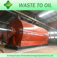 Reciclaje de llantas de desecho más popular para la planta de petróleo crudo