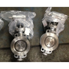 Stainless Steel 304 Wafer Type Butterfly Valve with Metal Seal D373f-16p