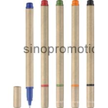 Nouveau stylo logo papier promotionnel (YM041)