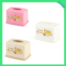 Plastic Fashionable Tissue Boxes for Home/Bedroom (FF-5084-4)