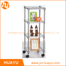 Rolling Cart 4 Shelves for All Areas of Home