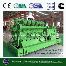 Sistema de generador de gas de 100kw Biomasa o Genset Ce e ISO aprobado
