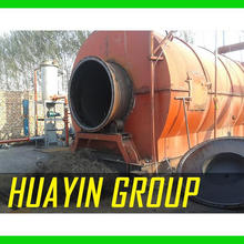 Professional service team OTR tire recycling to fuel oil pyrolysis plant