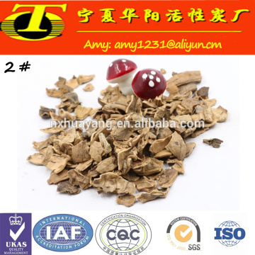Abrasive walnut Shell for Glass Polishing