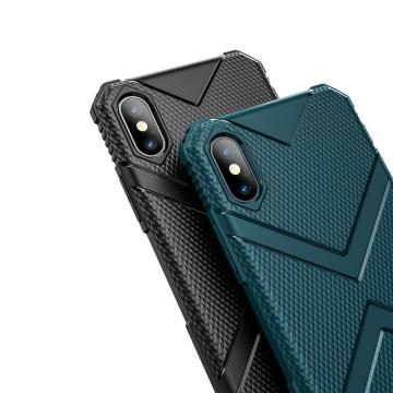 Flexible kratzfeste weiche TPU für iPhone X / XS