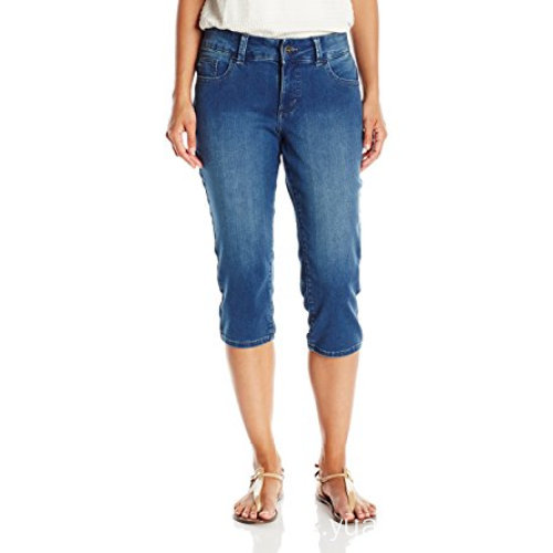 New Style Jeans Ladies Blue Cotton Denim Pants