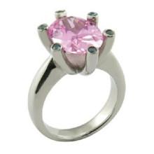 Irelands Princess Cut CZ Vintage Style Ring