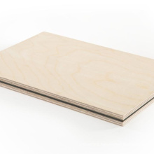 birch faced poplar core plywood 3-28mm for furniture/construction/laser cutting