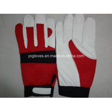 Labor Glove-Sheep Skin Glove-Goat Skin Glove-Safety Glove-Leather Glove-Working Leather Glove