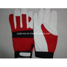 Кожаные Перчатки-Промышленные Перчатки-Перчатка Работы Безопасности Перчаток Хлопка Перчатки-Перчатки