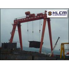 Grue à portique Shipyard 17 avec SGS