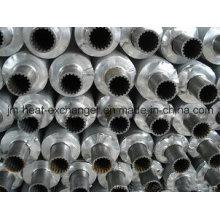 Kondensatorrohr mit Aluminiumflosse