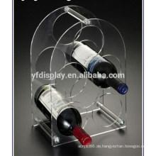 Weinregal aus Acryl / Plexiglas