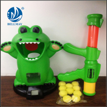 Crocodile EVA ball shooting gun, electrical crocodile kids soft bullet guns