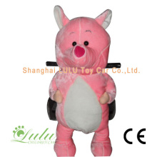 Pink Pig Animal Rider Coin Operated Machine
