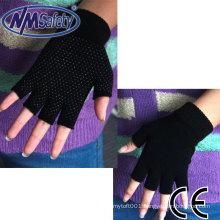 NMSAFETY half finger knit gloves