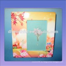 Lovely 8x7 '' marco de la foto de cerámica