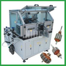 Automatic motor armature winding machine