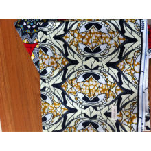 african real wax cotton fabric 24*24/72*60 /african lace