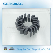 Manufacture Customized Permanent Arc Ferrite Magnet with RoHS