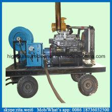 200 бар Очиститель дренажной трубы Дизельное оборудование для очистки сточных вод высокого давления
