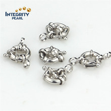 Necklace Clasp Compass 925 Sterling Silver Bracelet Metal Clasp