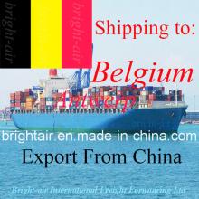 Перевозки грузовые морские перевозки экспедитор из Китая в Бельгию