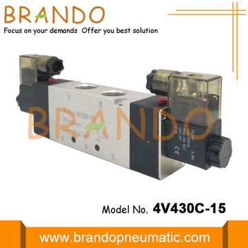 5/3 Way AirTAC Type Air Control Valen Solenoid Valve