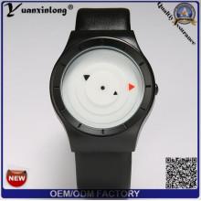 Personalizado reloj de diseño de cuero correa reloj cronógrafo Casual Girl Señoras reloj de cuarzo reloj de pulsera