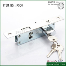 The Brass Cylinder Zinc Cylinder Hook Bolt Lock with Hook Sliding Door Lock