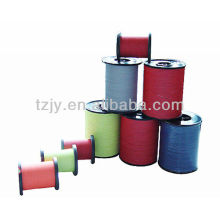 colored 100%polyester reflective thread sewing thread
