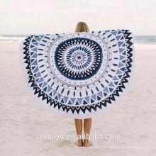 Vente chaude pas cher 100% coton Australie Mandala Rond serviette de plage en Stock BT-092 En Gros Chine Fournisseur
