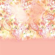 Soft Touch Digital Print Design Silk Chiffon Fabric (XF-0093)
