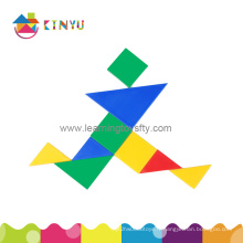 2015 Nouveau jouet éducatif / puzzle en plastique Tangram