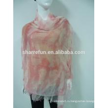 Печатных женские 100% кашемир сплетенный шарф,кашемир пашмины шали