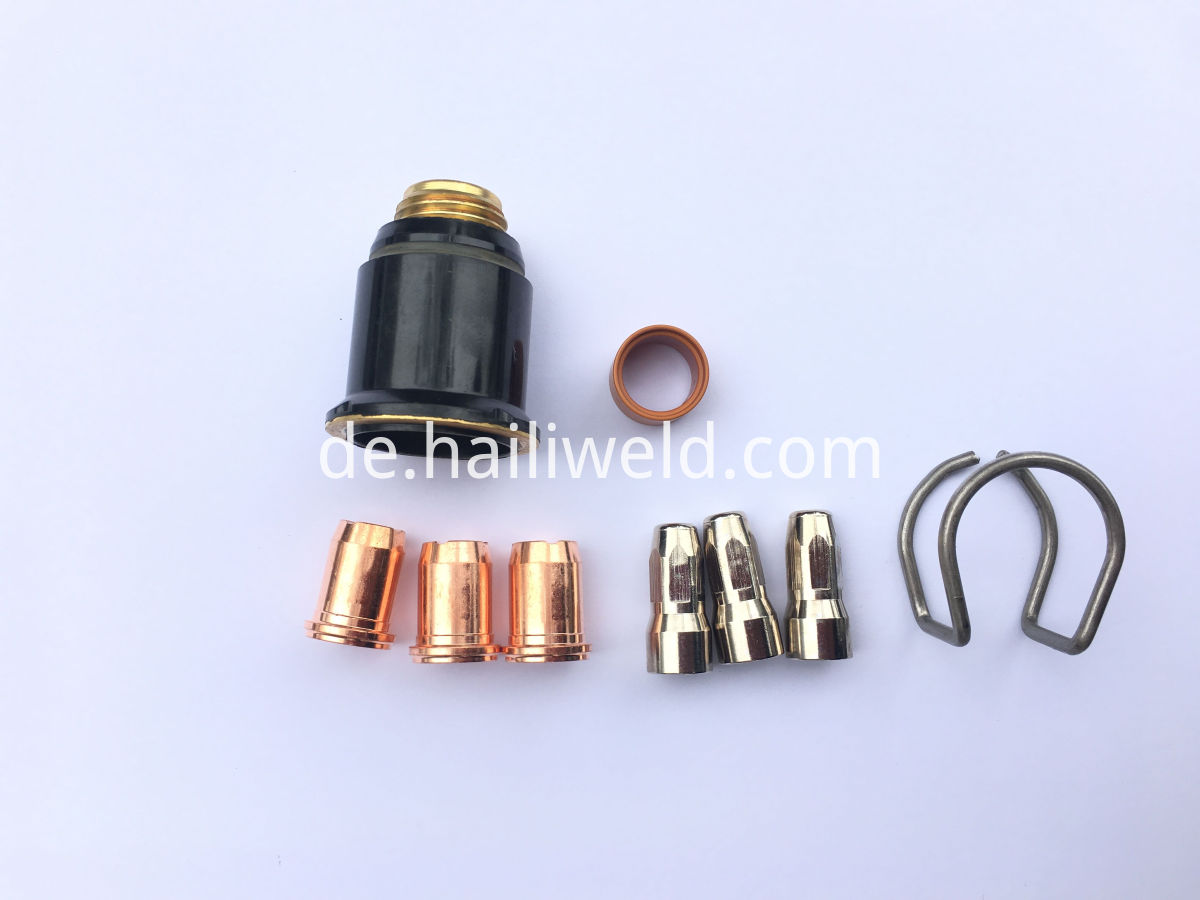 S-75 plasma cutting torch consumables
