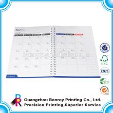 Cheap planificador de día personalizado de impresión con calendario en el interior