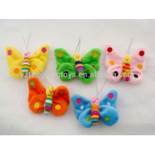 made in China OEM mini plush animal fridge magnet