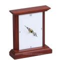 Horloge en bois pour décoration intérieure