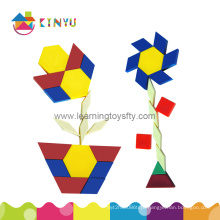 Plastic Pattern Blocks for Children (K003)